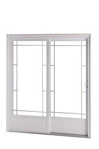 Portes patio en PVC : exemple de produit