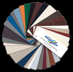 Choix de couleurs pour fenêtres à battants