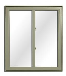 Type de modèle de fenêtres coulissantes