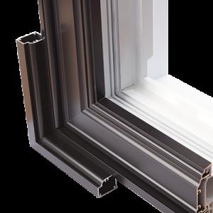 Fen tres coulissantes hybrides qu bec contracto 3000 for Fenetre aluminium quebec