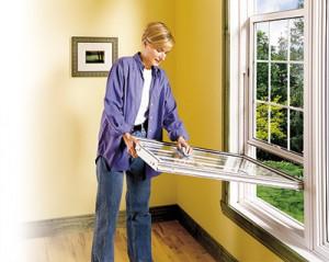 Dimension pratique des fenêtres à guillotine