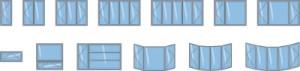 Différents types de fenêtres à battants