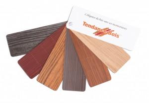 Choix de couleurs de bois pour portes en fibre de verre